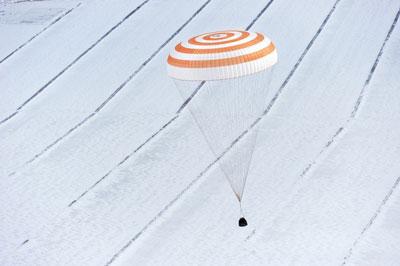 Tàu vũ trụ Soyuz trở về trái đất
