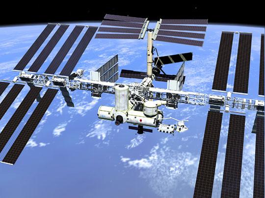 ISS được nâng lên 4,2km