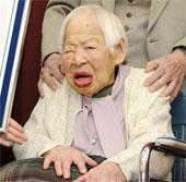 Cụ bà cao tuổi nhất thế giới tổ chức sinh nhật lần thứ 116