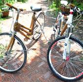 Biến tre gai thành khung xe đạp xuất khẩu