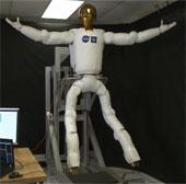 Robot có chân lên vũ trụ