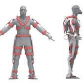 Bộ giáp cho lính cứu hỏa tương lai