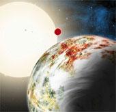 Giới thiên văn bối rối vì phiên bản khổng lồ của trái đất