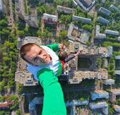 Những bức ảnh tự sướng mạo hiểm nhất thế giới