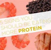 Tín hiệu bạn cần ăn nhiều đạm hơn