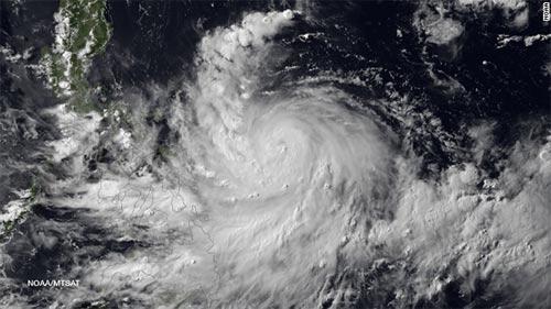 Philippines sau khi bão Thần Sấm đi qua
