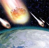 Trái Đất có nguy cơ bị hàng trăm thiên thạch tấn công