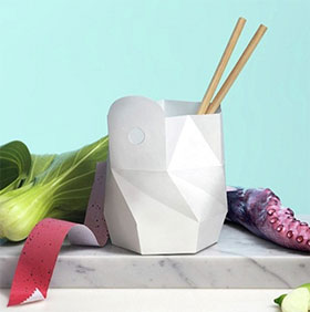 Giới thiệu túi đựng thực phẩm có thể tự hủy và tự nấu