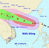 Bão Kalmaegi mạnh cấp 13, tiến thẳng vùng biển Quảng Ninh - Hải Phòng