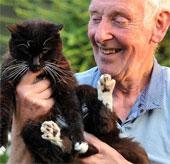 Công nhận con mèo già nhất thế giới