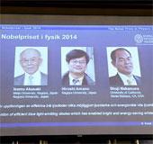 Nhà khoa học Nhật Bản đoạt giải Nobel Vật lý 2014