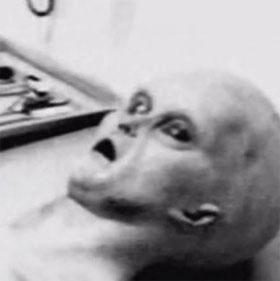 """Công bố ảnh """"mổ tử thi người ngoài hành tinh"""""""