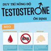 Cách đơn giản tăng testosterone cho phái mạnh