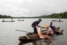 Tận mắt xem đánh bắt cá rồng trăm kg