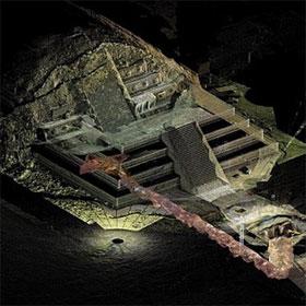 """Vén màn bí mật về """"con sông"""" thủy ngân dưới kim tự tháp người Maya"""