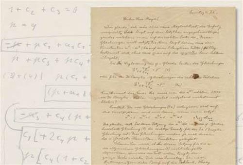 Bán đấu giá thư viết tay của Albert Einstein tại Mỹ