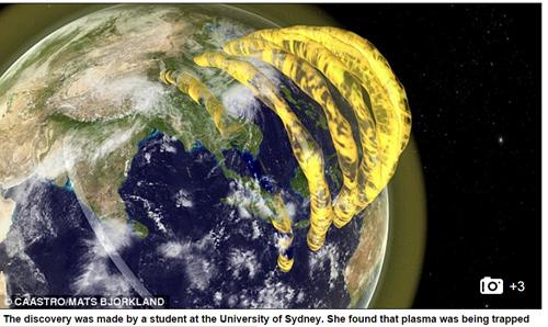 Nhiều luồng plasma kỳ lạ đang bao quanh Trái đất