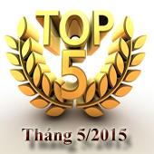 5 phần mềm được tải nhiều nhất tháng 5/2015