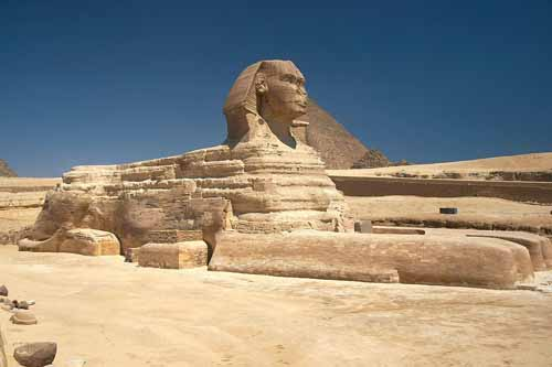 Tượng nhân sư Giza và những câu đố bí ẩn