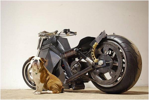 Xe máy chạy bằng năng lượng gió