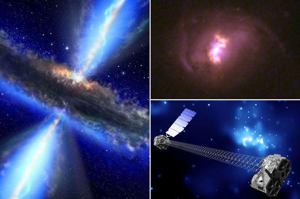 Bất ngờ phát hiện 5 hố đen bí ẩn ngoài vũ trụ