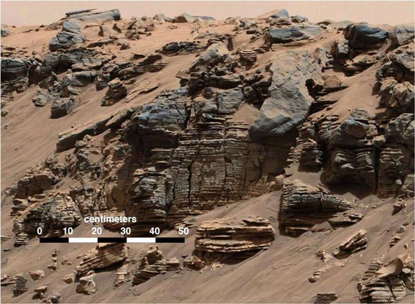 """Có thể tồn tại """"nước ở dạng lỏng"""" trên Sao Hỏa"""