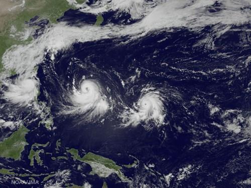 Bão Nangka ập vào Nhật Bản, 2 người chết, 100.000 người sơ tán