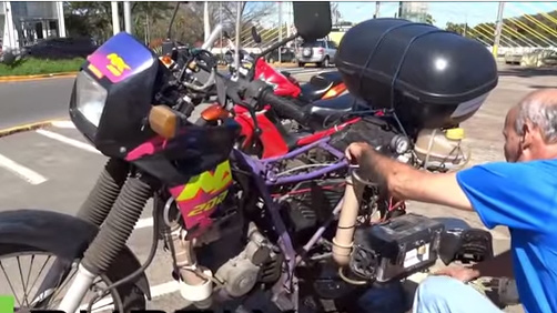 Xe máy chạy 500 km bằng một lít nước lã