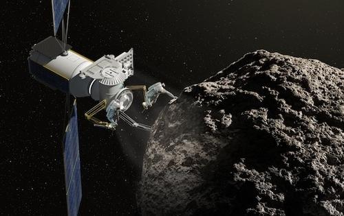 Mỹ thử nghiệm phóng tàu khai thác tài nguyên các thiên thạch