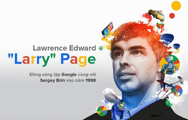 Larry Page, người viết nên lịch sử thế giới cùng Google