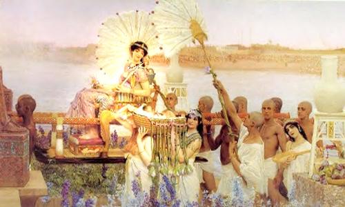 Phụ nữ Ai Cập cổ đại đòi quyền lợi bằng hợp đồng hôn nhân