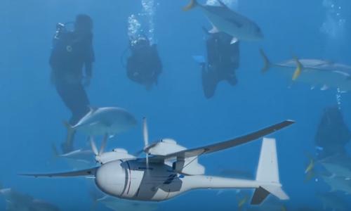Boeing đăng ký bằng sáng chế máy bay không người lái lai tàu ngầm