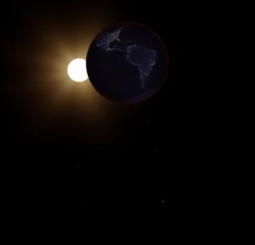 Video: Đứng ở Mặt Trăng ngắm nguyệt thực toàn phần