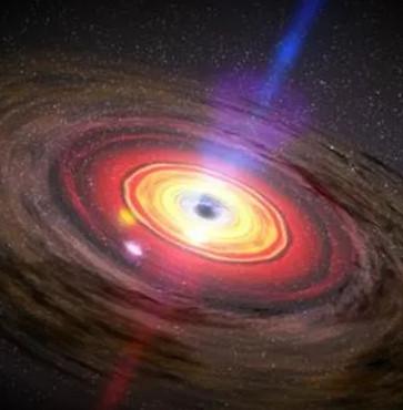 """Phát hiện lỗ đen """"quái vật"""" lớn gấp 350 triệu lần Mặt trời"""