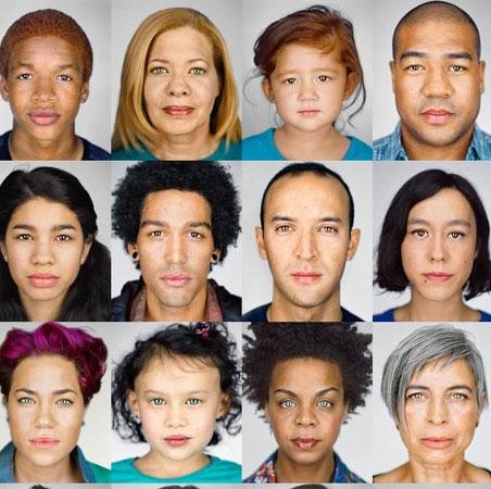 Khuôn mặt người Mỹ sẽ biến đổi như thế nào vào năm 2050?