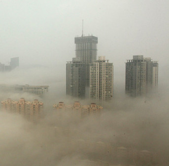 Không khí ô nhiễm từ Trung Quốc tràn sang Việt Nam vào mùa đông