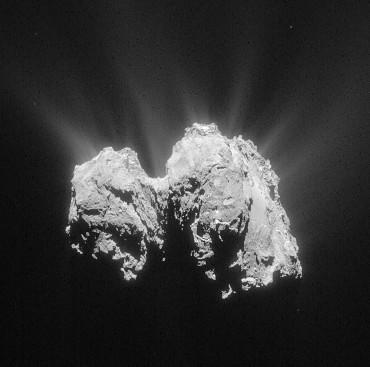 Lần đầu tiên phát hiện oxy trên sao chổi