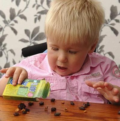 Cách đoán IQ tương lai của trẻ chỉ bằng quả nho khô