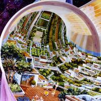 Những thuộc địa không gian đẹp như mơ thay thế Trái Đất