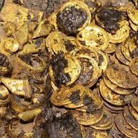 Hàng chục cân vàng rải quanh quan tài cháu trai Hán Vũ Đế