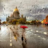 """Bộ ảnh đẹp như tranh giúp """"thắp sáng ngày mưa"""""""