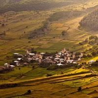 Cảnh quan vùng thượng Svaneti