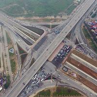Ngắm giao lộ 4 tầng đầu tiên ở Việt Nam sau khi thông hầm chui