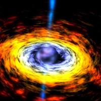 Phát hiện lỗ đen siêu lớn đang phun vật chất