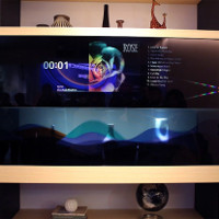 TV tàng hình đầu tiên trên thế giới của Panasonic