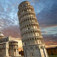 Nguyên nhân khiến tháp Pisa nghiêng