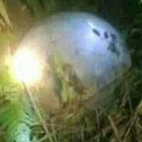 Lại phát hiện vật thể lạ rơi vào vườn nhà dân ở Tuyên Quang