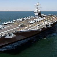 Quá trình chế tạo siêu tàu sân bay lớp Gerald R. Ford