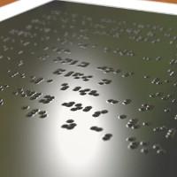 Phát triển thành công màn hình cảm ứng hiển thị chữ nổi cho người khiếm thị