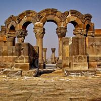 Di chỉ Zvartnots - Di sản văn hóa thế giới tại Armenia